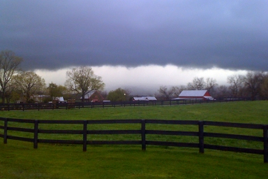 Upperville Storm