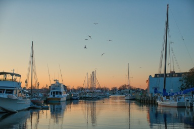Sunrise In Annapolis