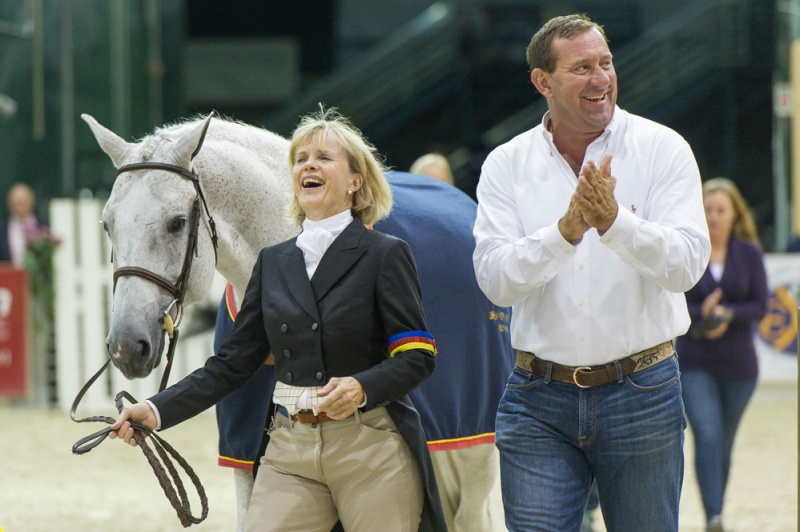 Polly Sweeney and Archie Cox at the 2013 Capital Challenge Horse Show