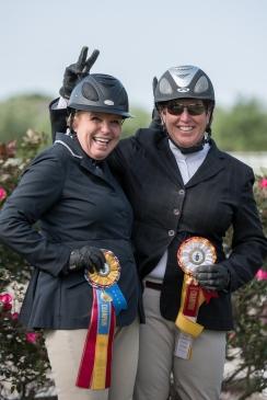 Pin Oak President Lynn Walsh and Didi Mckenzie